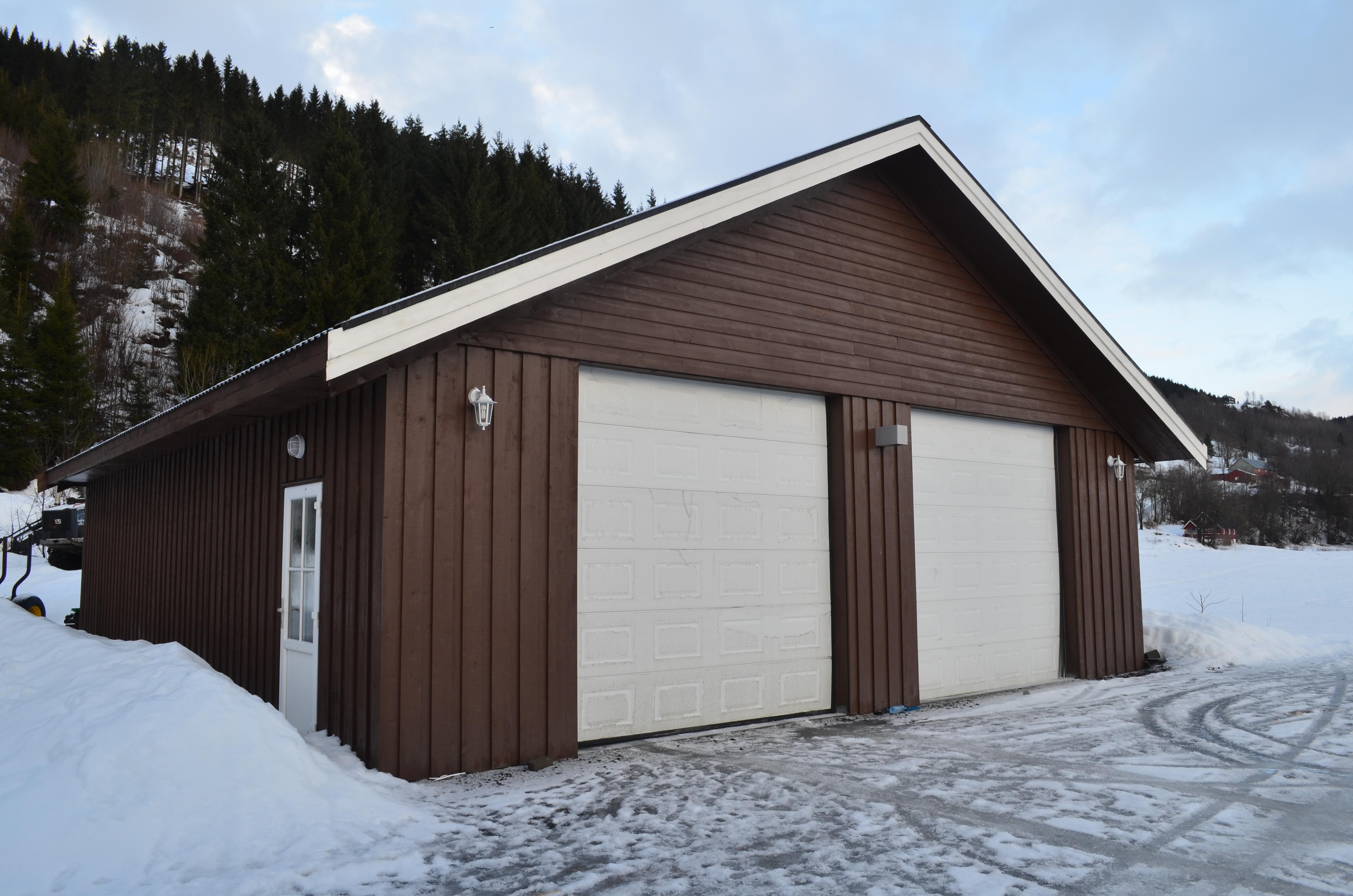 Strålende Ny Stålhaller-Lagerhaller-Verksted-Fjøs-Ridehall i alle FR-16