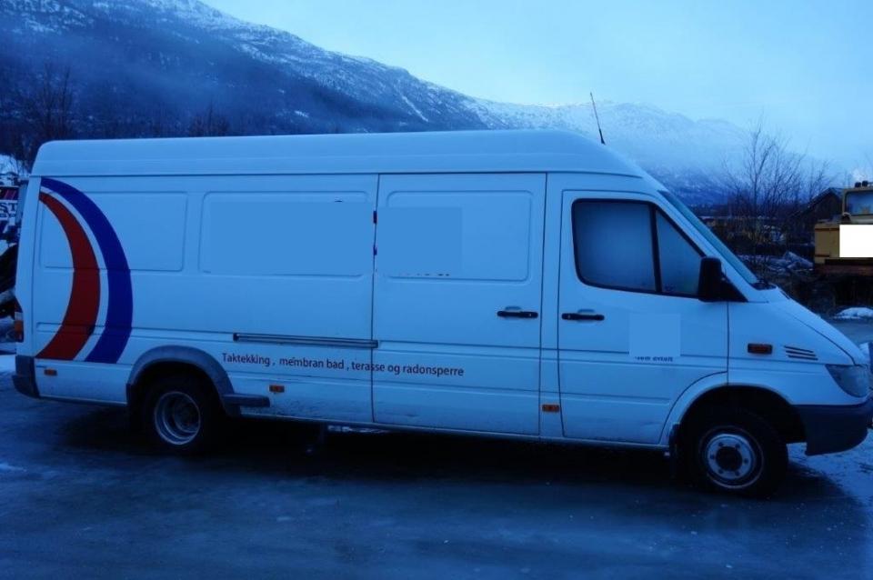 Brukt Mercedes-Benz - Sprinter 413 - 2003 - Mercedes-Benz - Skapbil - Lastebil - Varebil ...