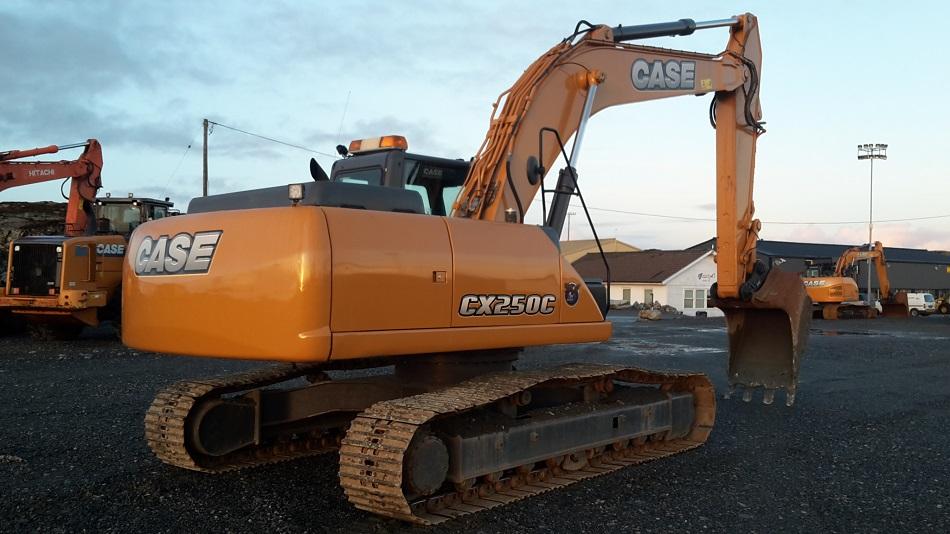 Brukt Case-Sumitomo CX240BLC - SOLGT - - Case - Gravemaskin - Bygg - Anleggsmaskiner - Selges ...