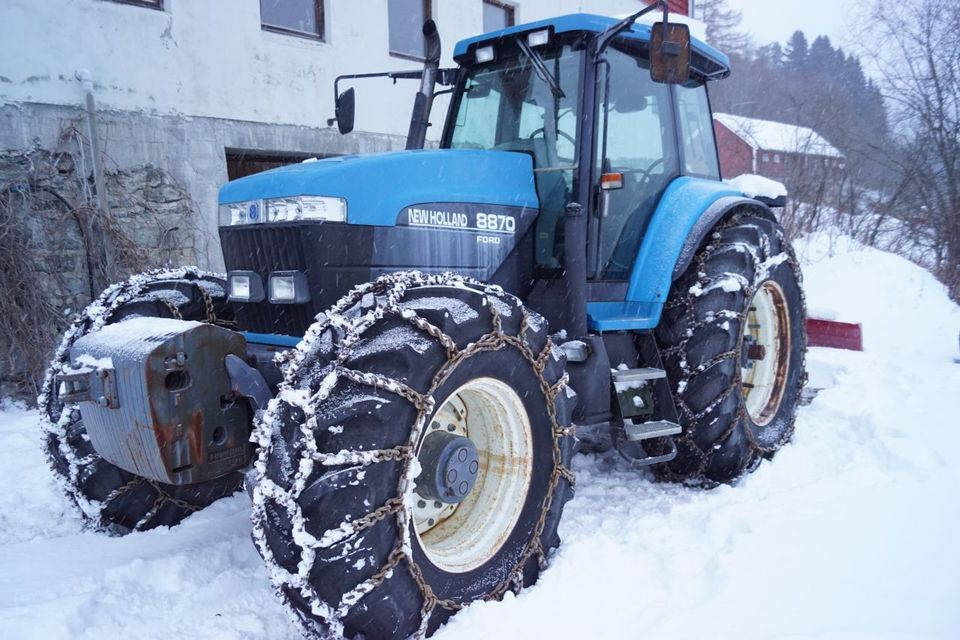 3 punkt hekte traktorer