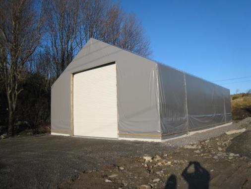 Ny Hall ,Telt og Stålhaller 2019 Brakke hall container