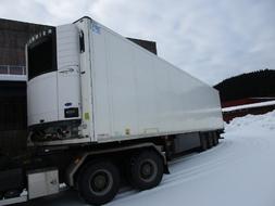 NÅ  HUGGES :  Schmitz  Cargobull  Semitralle  m / Fryseaggregat 2012 bilde