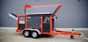 REMAV RS1500 Mobil Tromle Recycling Sorter bilde