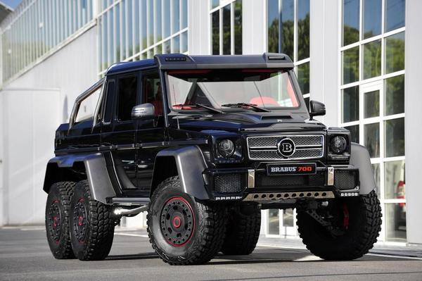 Brabus Monster Pickup - B63S-700 bilde