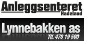 Anleggsenteret Hadeland AS Logo