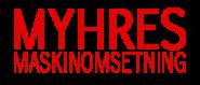 MYHRES maskinomsetning AS Logo